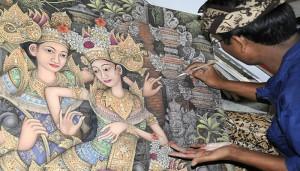 Balinese Art Painting