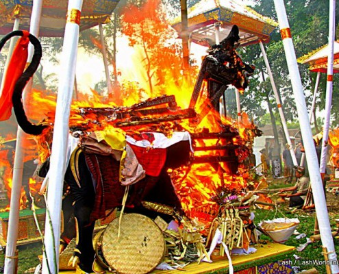 Bali Combustion ceremony
