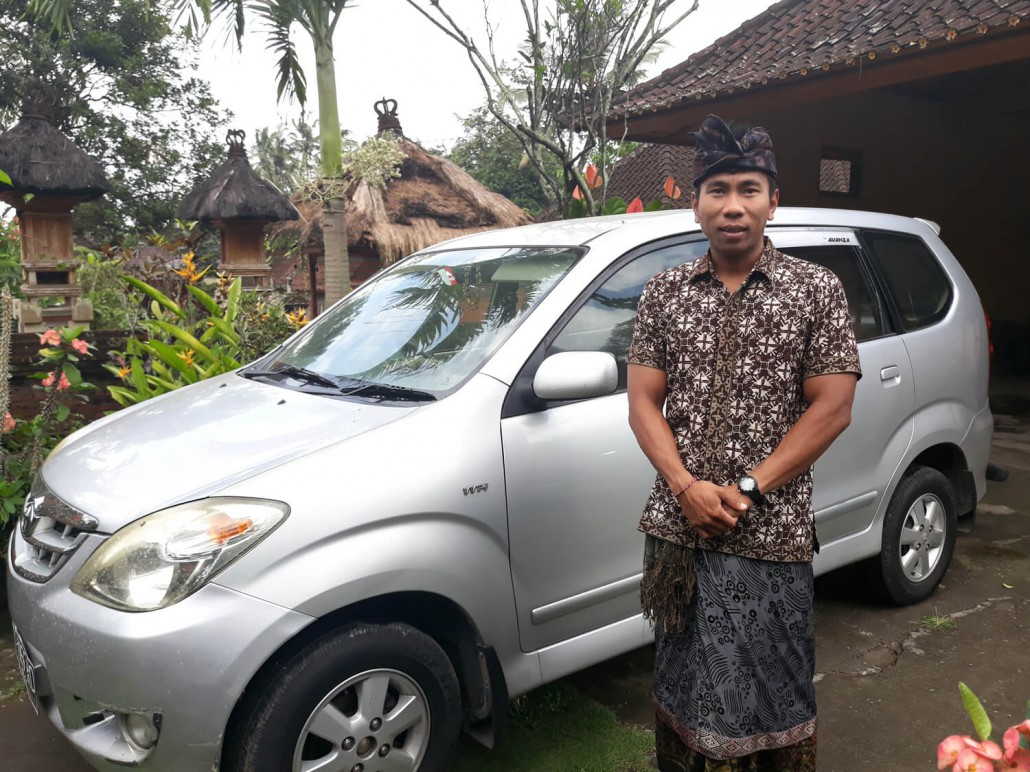 Private Driving Service Ubud