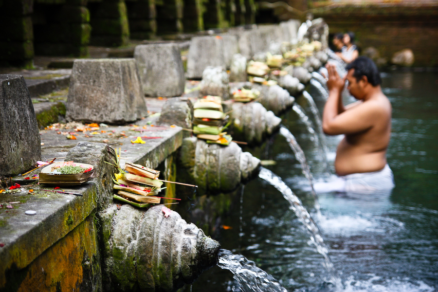 Bali Holy Water Temple