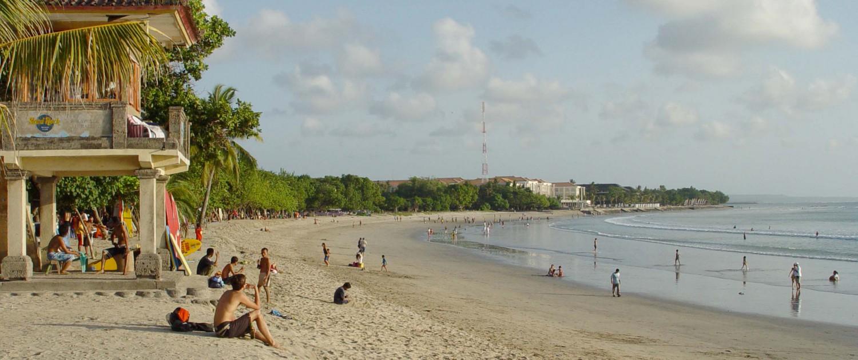 Sand beach bali